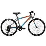 image of Cuda Unisex Junior Road Cross Country Cx Bike Orange/blue