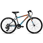 image of Cuda Unisex Junior Road Cross Country Cx Bike Orange/blue
