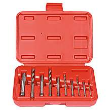 image of 10pc Extractor and Drill Set
