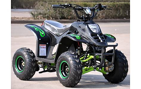 image of FX-800W Electric Field Style Quad Bike Green