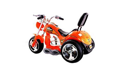 image of 6V Chopper Style Ride On Bike Orange