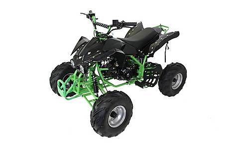 image of 125cc 4 Stroke Quad Bike With Reverse Green