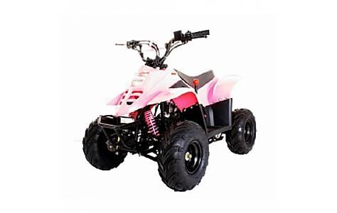 image of 110cc Thunder Cat Quad Bike Pink
