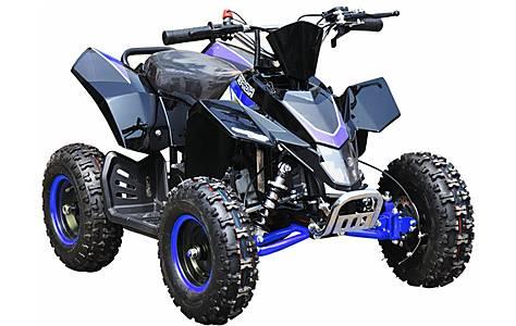 image of Hawkmoto SX-49 Racing Style Mini Quad Bike Blue