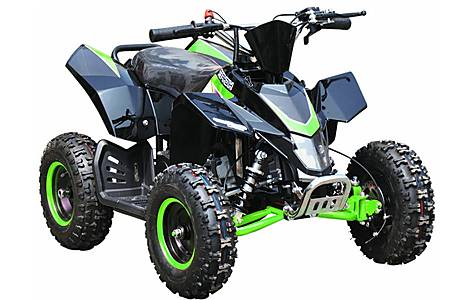 image of Hawkmoto SX-49 Racing Style Mini Quad Bike Green