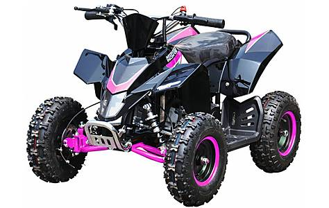 image of Hawkmoto SX-49 Racing Style Mini Quad Bike Pink
