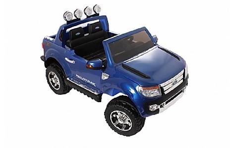 image of Ford Ranger Licensed 12v Ride On Car Blue