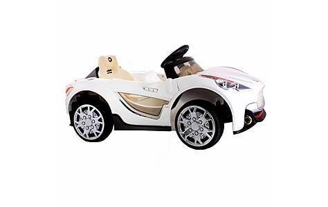image of 12v Maserati Style Ride On Car White