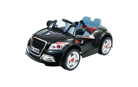 image of 12V Twin Motor TT Style Ride on Car Black
