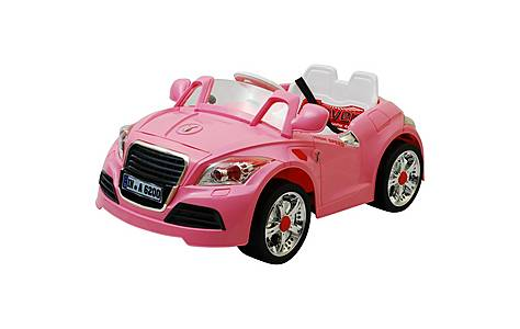 image of 12V Twin Motor TT Style Ride on Car Pink