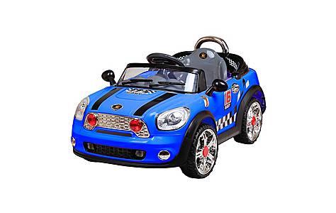 image of 12V Twin Motor Mini Style Ride on Car Blue