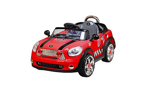 image of 12V Twin Motor Mini Style Ride on Car Red