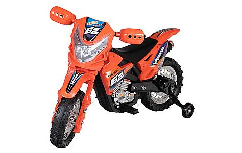 image of 6V Off Road Ride On Motorbike Red