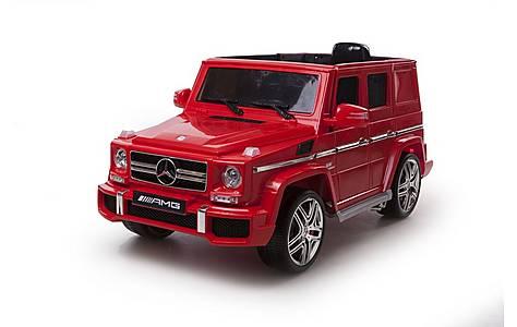 image of Licensed 12V Mercedes G63 AMG Red