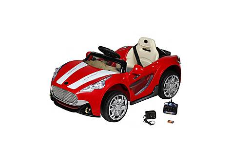 image of 12V  Maserati Style Ride On Car Red