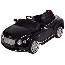 image of Licensed 12V Bentley Ride On Car Black