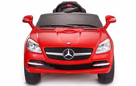 image of Licensed 6V Mercedes SLK Ride On Car Red