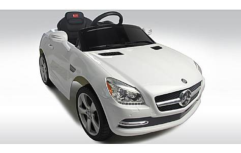 image of Licensed 6V Mercedes SLK Ride On Car White