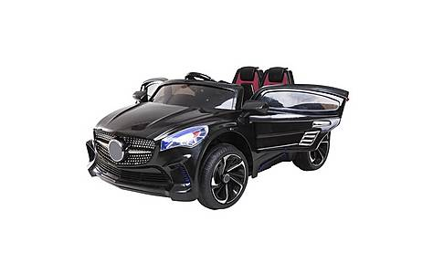 image of 12V Mercedes CLA Style Ride on Car Black