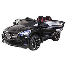 image of 12V Mercedes CLA Style Ride on Car Black