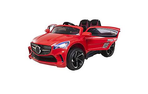 image of 12V Mercedes CLA Style Ride on Car Red