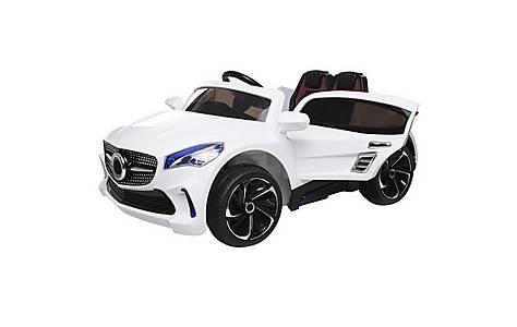 image of 12V Mercedes CLA Style Ride on Car White