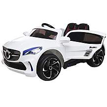 image of 12V Mercedes CLA Style Ride on Car White