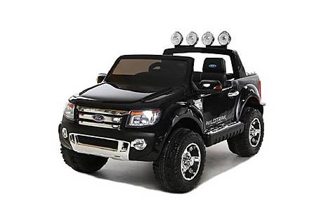 image of 12V Ford Ranger Ride on Car Black