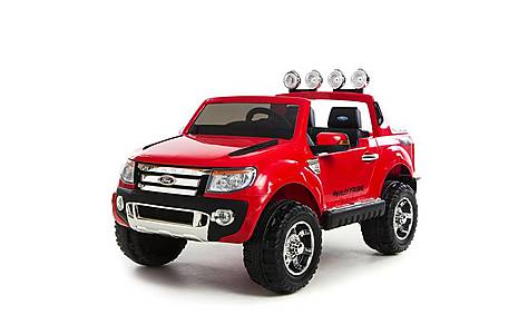 image of 12V Ford Ranger Ride on Car Red