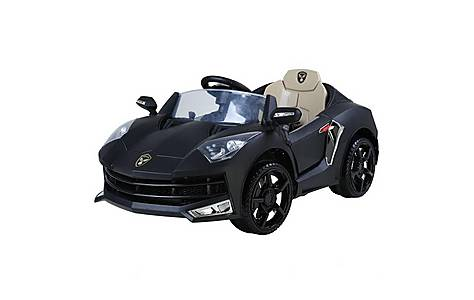 image of 12V Lamborghini Style Ride on Car Black