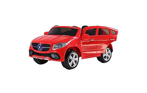 image of 24V Twin Seat Mercedes Style Ride on Car Red