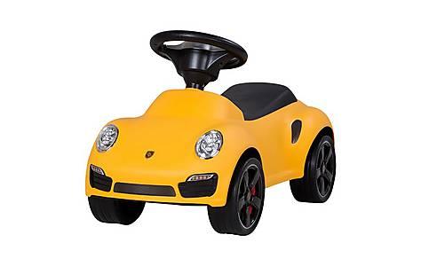 image of Porsche 911 Push Ride On Car Yellow