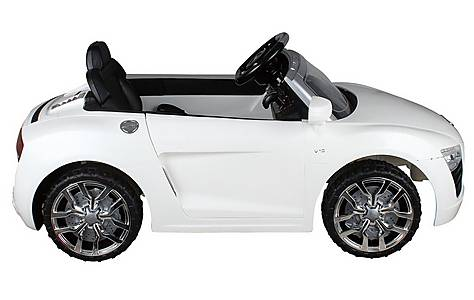 image of 12v Audi R8 Ride On Car White