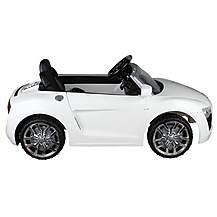 image of 12v Audi R8 Ride On Car White