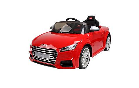 image of Rastar 12v Audi Tt Ride On Car Red