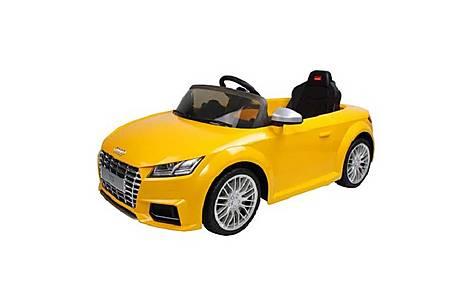 image of Rastar 12v Audi Tt Ride On Car Yellow