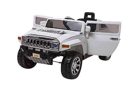 image of 12v Hummer Ride On Car White
