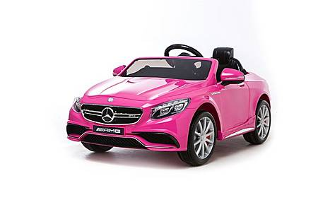 image of 12v Mercedes S63 Amg Ride On Car Pink