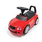 image of Push Along Ride On Car - Bentley Licensed - Red