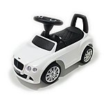image of Push Along Ride On Car - Bentley Licensed - White