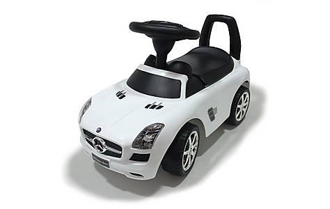 image of Ride On Push Along Mercedes White