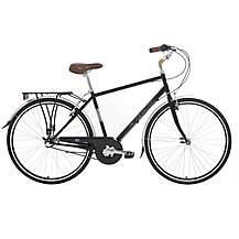 image of Kingston Park Lane, Mens Traditional City Bike, Black