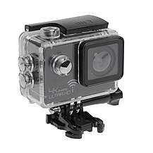 image of Sports Cam 4K Action Camera with 2.0in Screen, Wi-Fi and Waterproof Case (30m) + 10 mountings and accessories