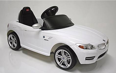 image of Kids Electric Car BMW Z4 6 Volt White Gloss