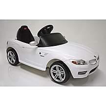 image of Kids Electric Car BMW Z4 6 Volt White Gloss