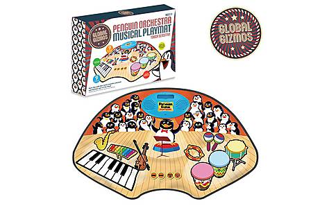 image of Penguin Orchestra Playmat