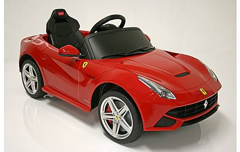 image of Kids Electric Car Ferrari F12berlinetta 12 Volt Red Gloss