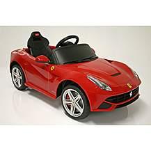 image of Kids Electric Car Ferrari F12berlinetta 12 Volt Red Gloss