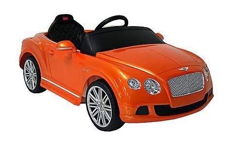 image of Kids Electric Car Bentley Continental GT 12 Volt Orange Gloss