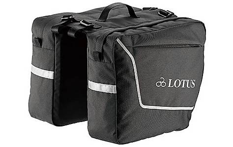 image of Lotus SH4-104G L Commuter Double Pannier Bags - 24 Litres